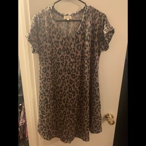 Brand New!! Leopard Dress